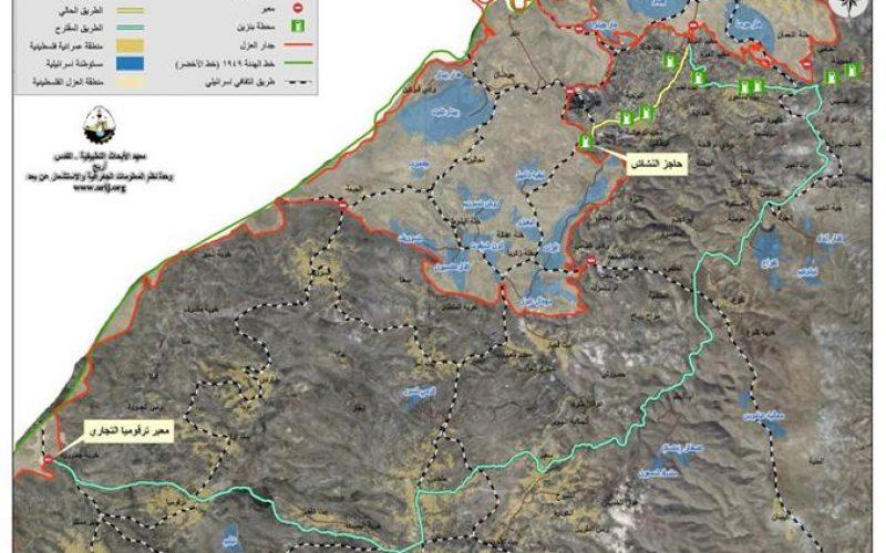 إسرائيل تفرض على الفلسطينيين استلام المحروقات في محافظة بيت لحم عبر معبر ترقوميا الحدودي غرب مدينة الخليل
