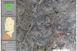 Complete Paralysis of Halhul's Daily Activities upon Israel's Closure of Halhul's northern entrance