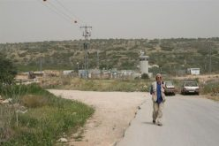 Israeli Occupation Forces Harass Palestinians in the North of the West Bank: