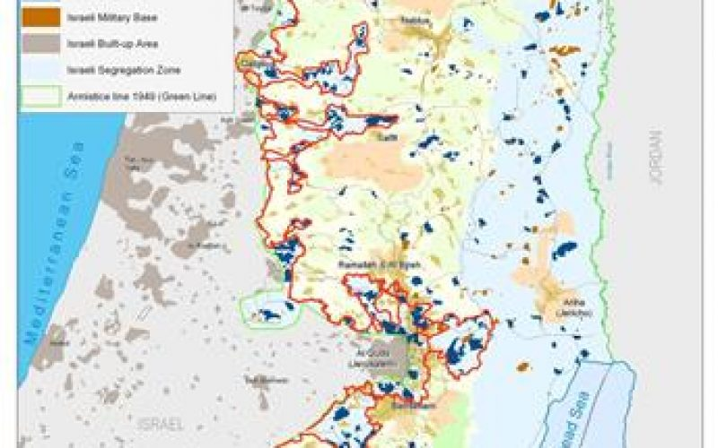 The Israeli Colonization activities in the Occupied Palestinian Territory during the first Quarter of 2008