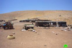 سلطات الاحتلال تهدم 13 منشأه فلسطينية في مناطق الأغوار و محافظة قلقيلية
