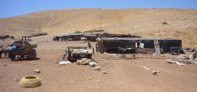 Israeli Occupation Forces Demolish 13 Palestinian Structures in the Jordan Valley and Qalqilyah Governorate