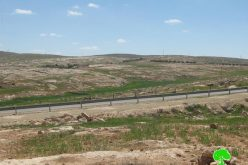 The Demolition of Caves and Animal Pens in Khirbet Qawawis South of Yatta