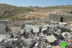 هدم المساكن  في قرية  الديرات  شرقي يطا, سياسة تهويد إسرائيلية متواصلة