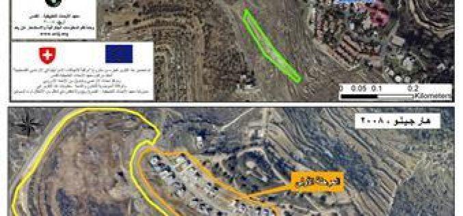 توسعات استيطانية اسرائيلية في محيط مستوطنة هار جيلو