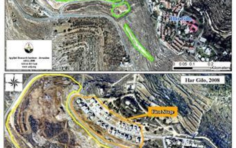 Israeli expansion activities in the vicinity of Har Gilo Settlement