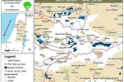 مجاري المستوطنات الاسرائيلية تلوث الأراضي الزراعية في قرية بروقين