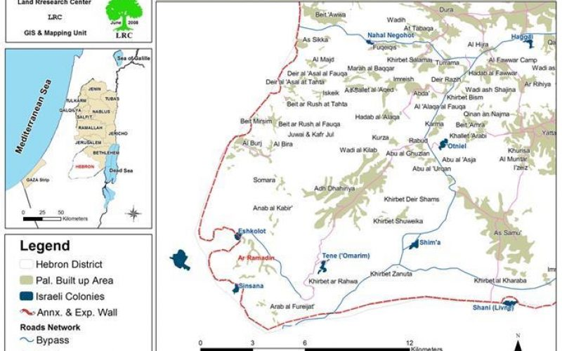 Israeli Occupation Forces Embark on Enlarging Sinsana settlement in Al Ramadien Village