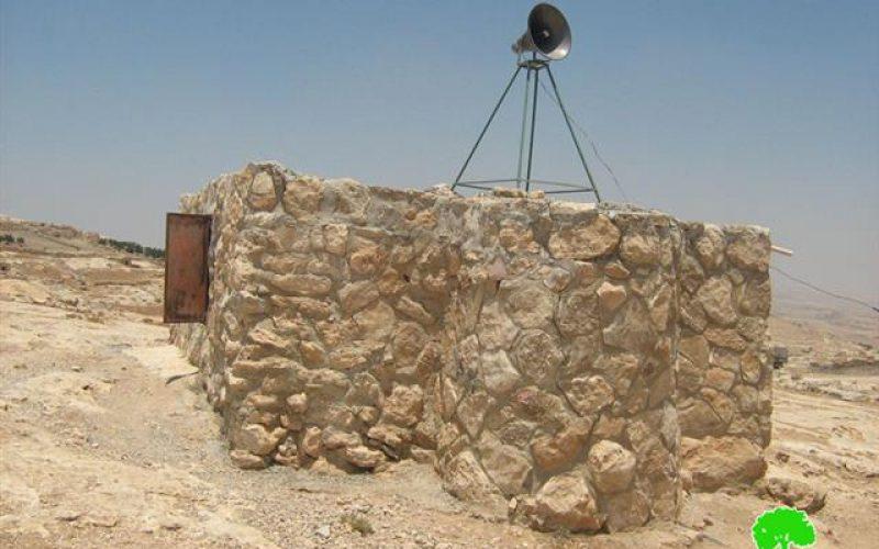 Israeli halt-of-construction notifications in Yata and Beit Ummer
