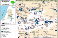 The Wall, another way for Land annexation <br> Expansion Plans at the Israeli Colonies