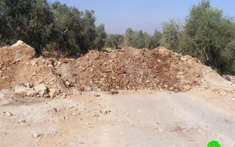 The Closure of Kafl Haris's village Entry Points with Earthmounds & the Increase of Colonists' Attacks against Religious Sites