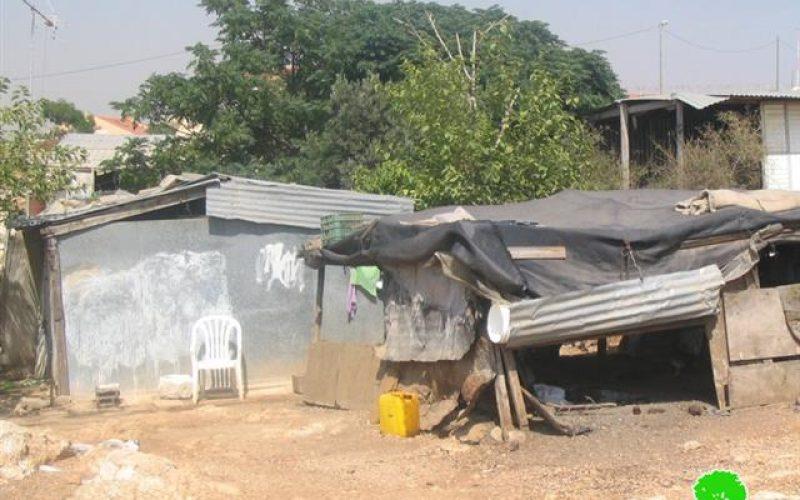 The Israeli Occupation Authorities continue warning habitat constructions in Al Ramadien Al Shamali and Al Ramadien Al Janoubi