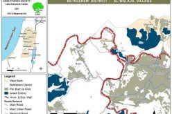 Israeli Occupation Forces Prevents the Construction of a Tourist Road in Al Walaja Village