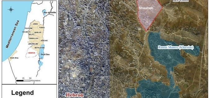 Israeli Occupation Authorities Illuminate its Colonies on the Expenses of Palestinian Land in Hebron