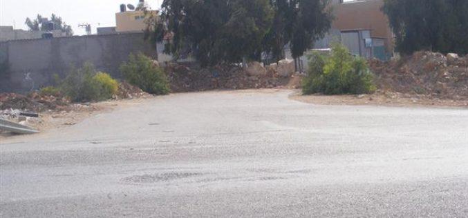 Israeli Occupation Army block Azzun Al Shamaliya village's main entrances