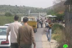 The Expansion of Annab Checkpoint on the Expense of Palestinian Agricultural Lands