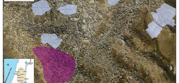 إقامة شمعداناً يهودياً على جبل التكروري في البلدة القديمة في الخليل