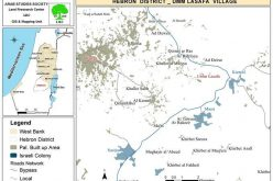 The Expansion of the Colony of Karmeil at the Expense of Palestinian Lands and Homes