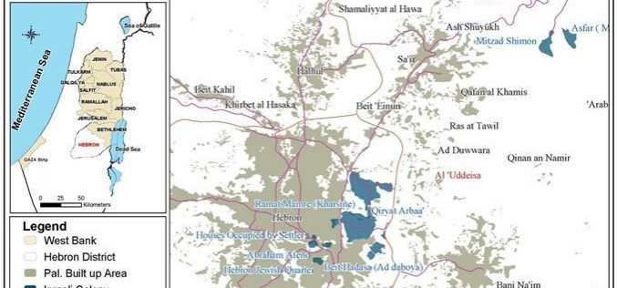 Land devastation and physical attacks against the land and people of Al 'Uddeisa village