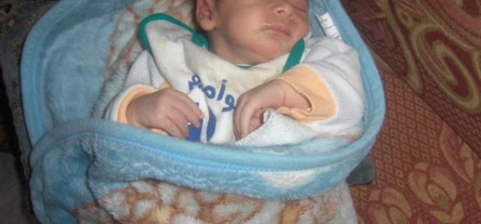 Ramez Al Shweiki … Another Palestinian Baby Born at An Israeli Checkpoint