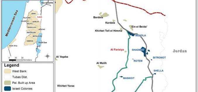 Preventing Khirbet Al Farisiya Farmers from Using their Lands