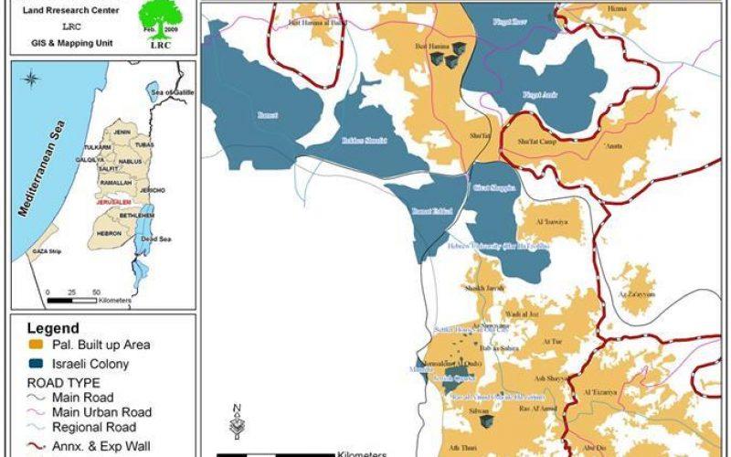 هدم المنازل الفلسطينية في القدس خلال كانون ثاني 2009