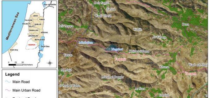 Land devastation and tree uprooting in Tarrama village