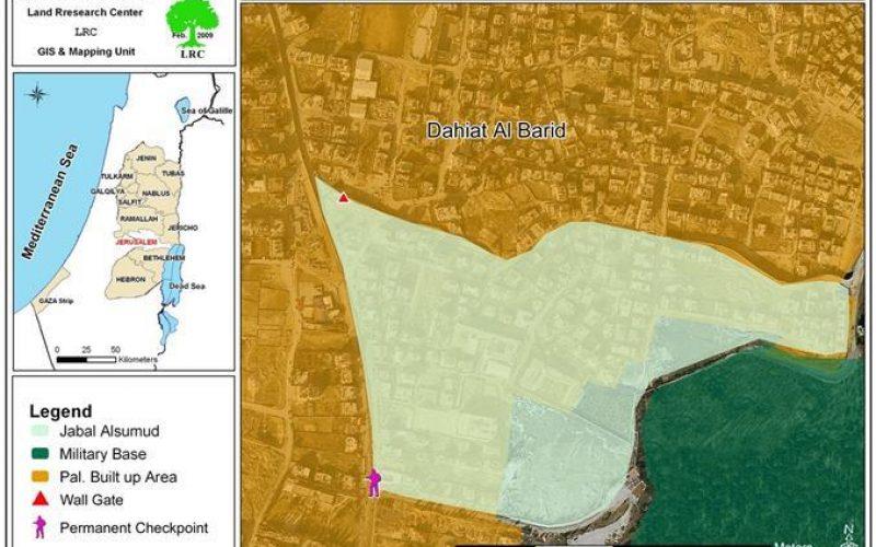 استكمالاً لبناء الجدار, الاحتلال الإسرائيلي يغلق المتنفس الوحيد للرام وضاحية البريد