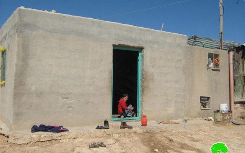Halt of  construction orders in Khirbet Deir Sa'ida