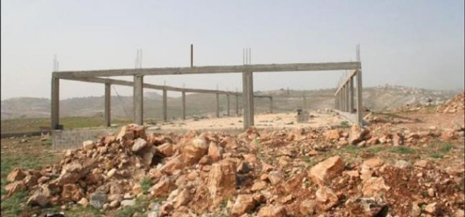 Israeli House Demolition Orders in Jabal Harasa East of Beit Sahour City