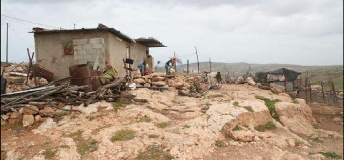 موجة هدم اسرائيلية لمنازل المواطينين الفلسطينيين في قرية عقربا جنوب شرق مدينة نابلس