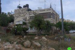 الاحتلال الاسرائيلي يفصل بين عائلات سليمان في بيت حنينا عن مساكنها