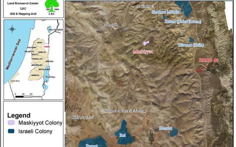 The current Israeli government speeds up the colonization process of the Jordan valley