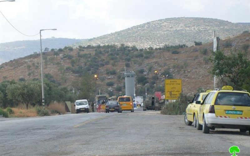 Israeli Occupation Forces Attempt to Deceive International World Opinion Regarding the Removal of a Number of Military Checkpoints in Northern West Bank.