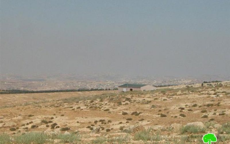 Avigayl Colony Expands on the Expense of Lands of Khirbet Al Mufaggara
