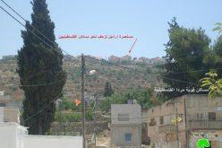 سلطات الاحتلال تعلن عن  نيتها  إنشاء شبكة للمياه العادمة لصالح مستوطنة ارائيل