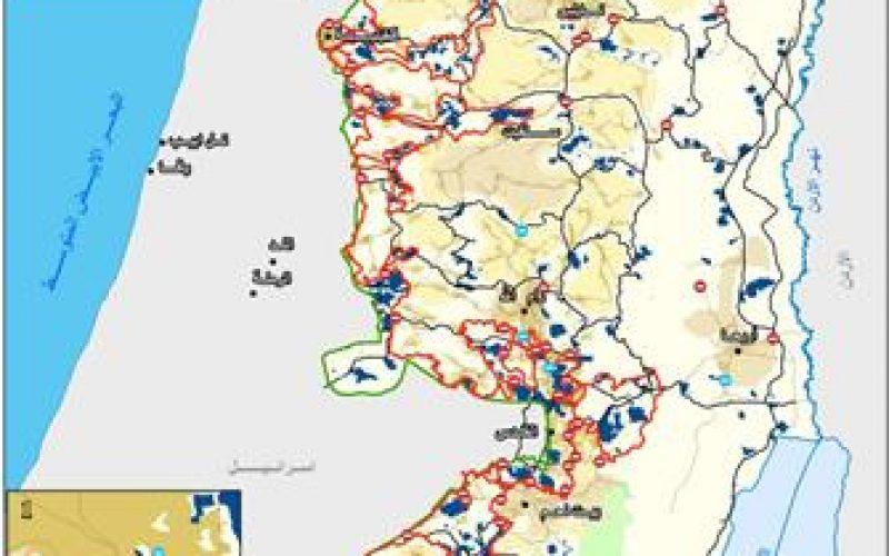 الحواجز الاسرائيلية لم يتم ازالتها و لكن تم اعادة تصنيف عملها