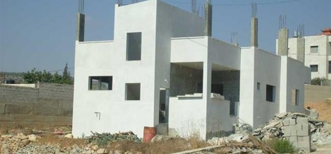 Israel Issues Stop Work Orders against Palestinian Structures in the Village of Kafl Haris