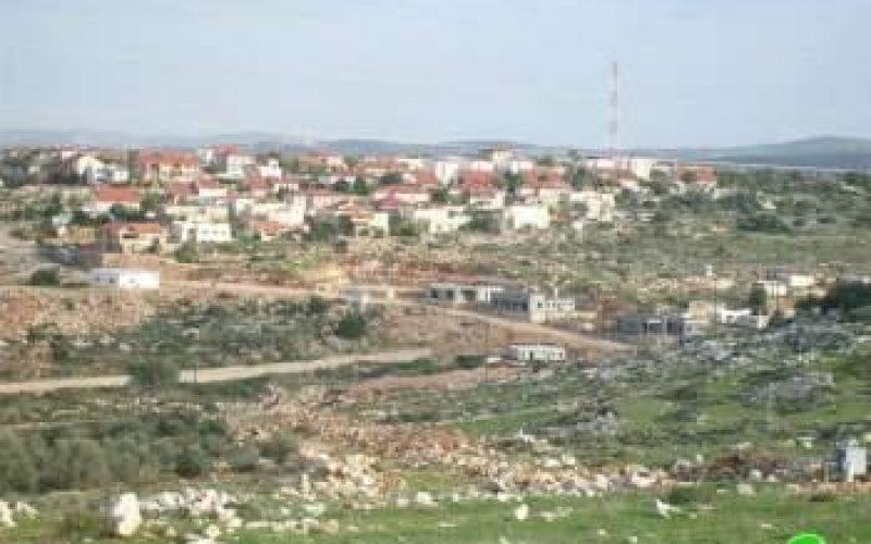 Israeli Colonial expansions on Deir Istiya village lands