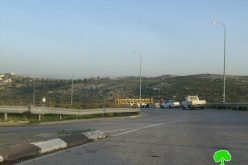 The Israeli Occupation Forces re-closes Kafr ad Dik main entrance
