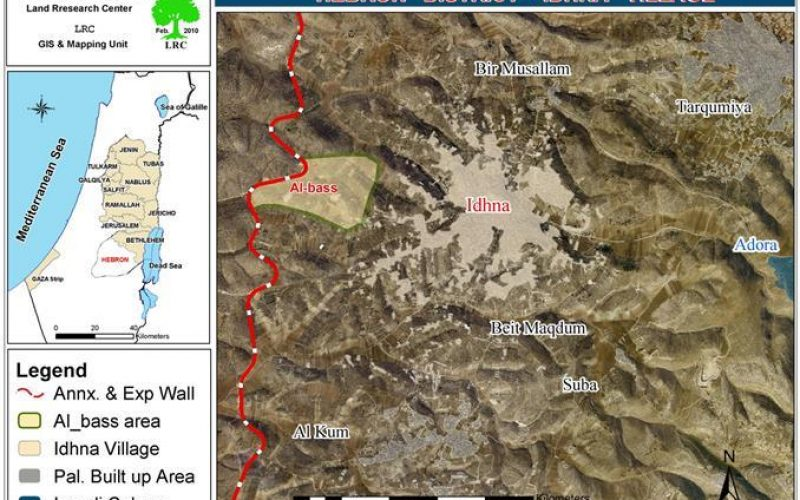 The Israeli Occupation bulldozers level a number of water reservoirs and storages