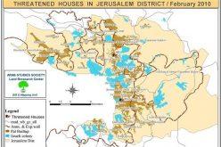 الاحتلال وبلديته  يصدران  إخطارات بحق 53 مسكناً في القدس المحتلة خلال شهر شباط 2010