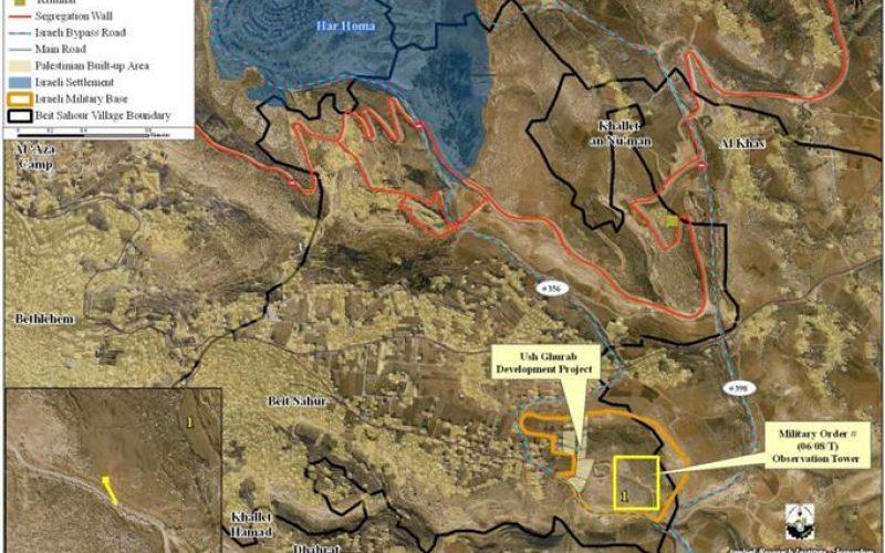 New Israeli Attempt to resettle in Ush Ghurab area in Beit Sahour