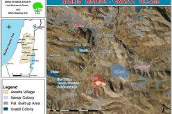 Land grab for military purposes in 'Awarta village