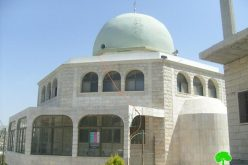 Attacking Bilal Ibn Rabah Mosque in Huwwra village