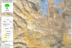 إغراق 70 دونماً من الأراضي الزراعية بالمياه العادمة في بلدة بيت أمر