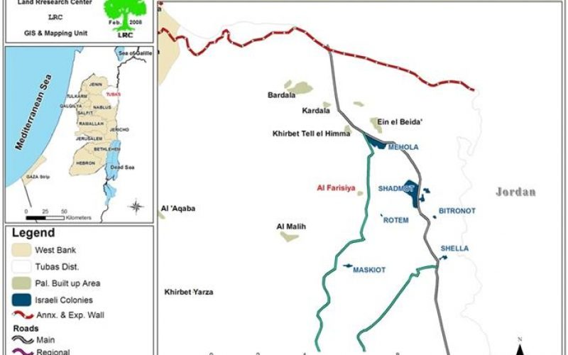 مصادرة 4 مضخات مائية في خربة الفارسية شرق مدينة طوباس