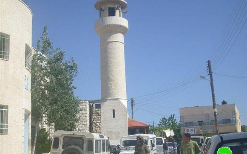 Mosque Torch in Al Lubban ash Sharqiya village