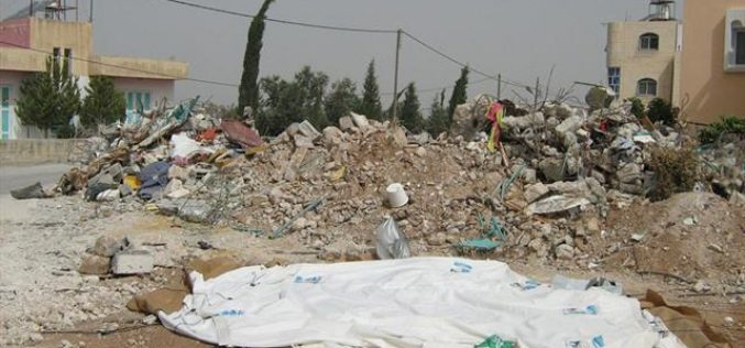 House Demolition and an Attack on School in Beit 'Awwa town