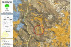 إخطارات بالهدم لعدد من المساكن والمنشآت الفلسطينية في بلدة بني نعيم
